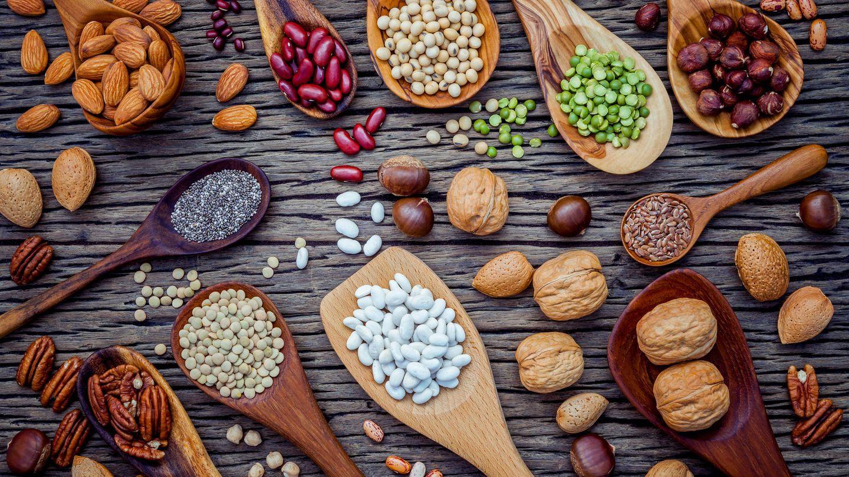 Los frutos secos son ricos en vitamina E. (iStock)