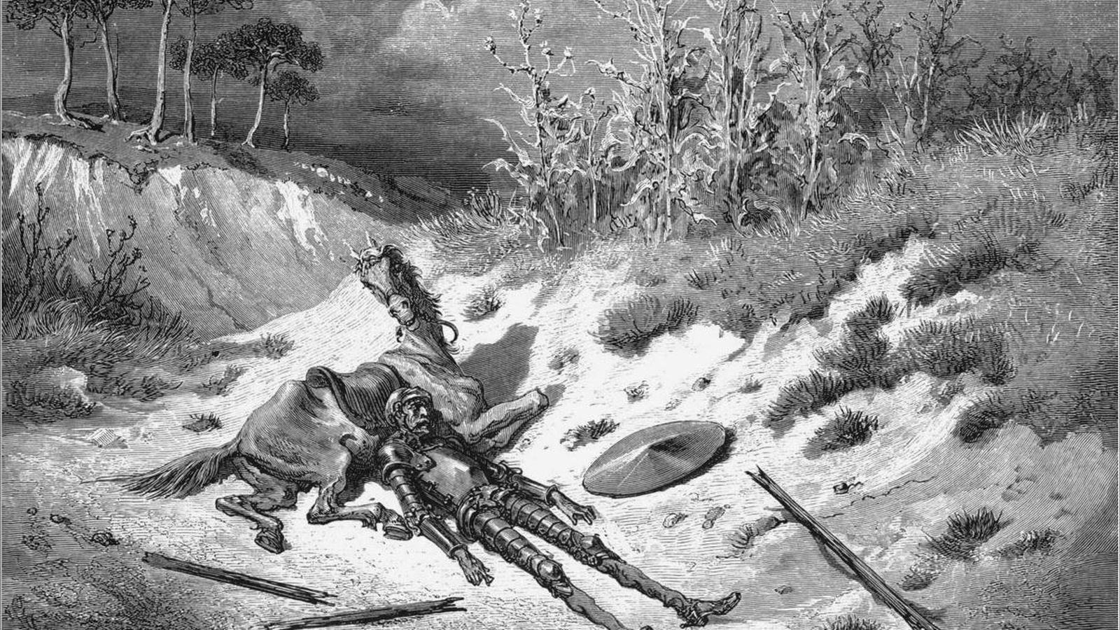 Foto: Ilustración de 'El Quijote' de Gustave Doré.