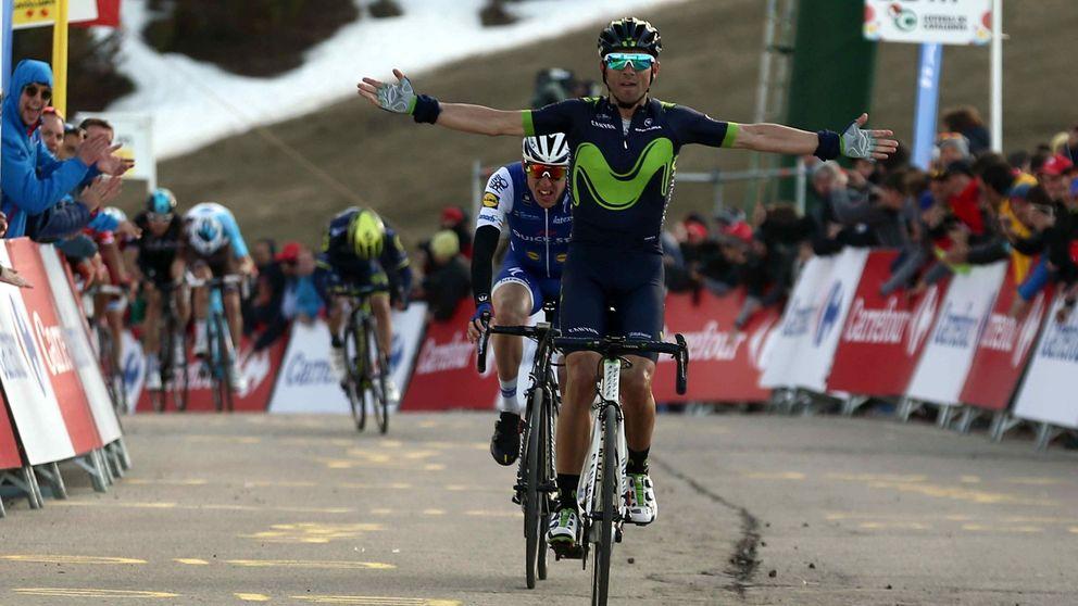 Valverde se desquita de la sanción, gana y mete tiempo a Contador y Froome