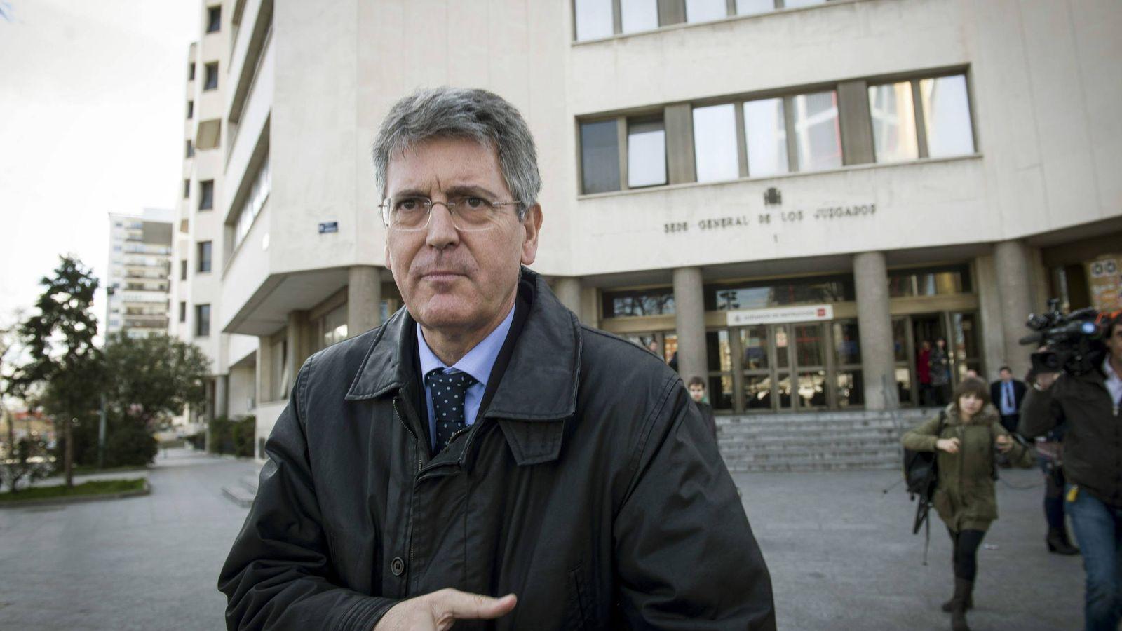 Foto: El inspector jefe de la Policía Municipal de Madrid, Emilio Monteagudo. (EFE)