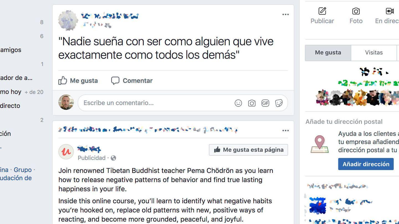 Así lucía el 'nuevo' Facebook de Carlos Otto en Guatemala.