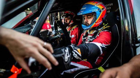 Por qué hay que bajar el 'pistón' al primer podio de Fernando Alonso en un rally