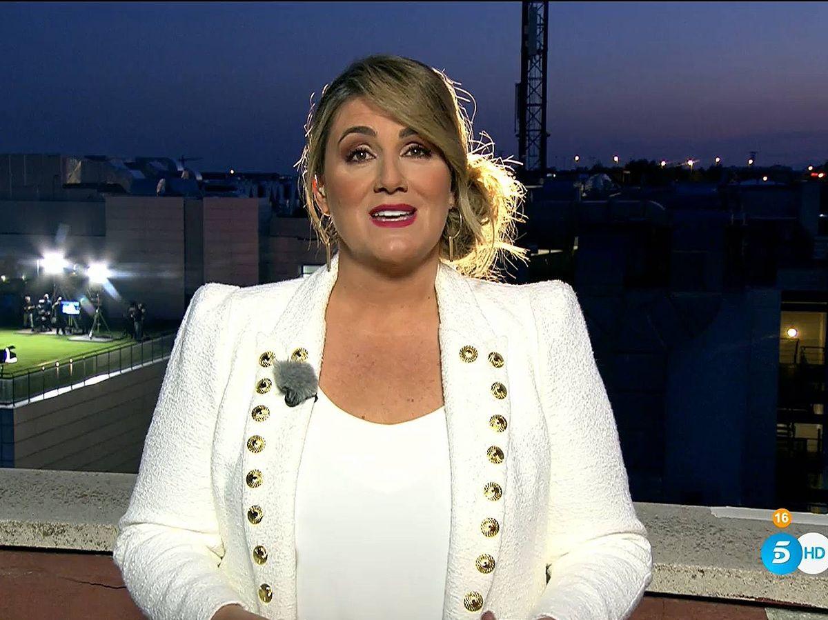 Foto: Carlota Corredera, en 'Rocío, seguir viva'. (Mediaset)