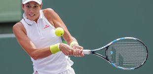 Post de Perder el primer set motiva a Muguruza y le hace sacar su mejor tenis en Miami