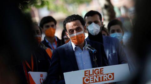 Ciudadanos desaparece de la Asamblea de Madrid y acelera su descomposición