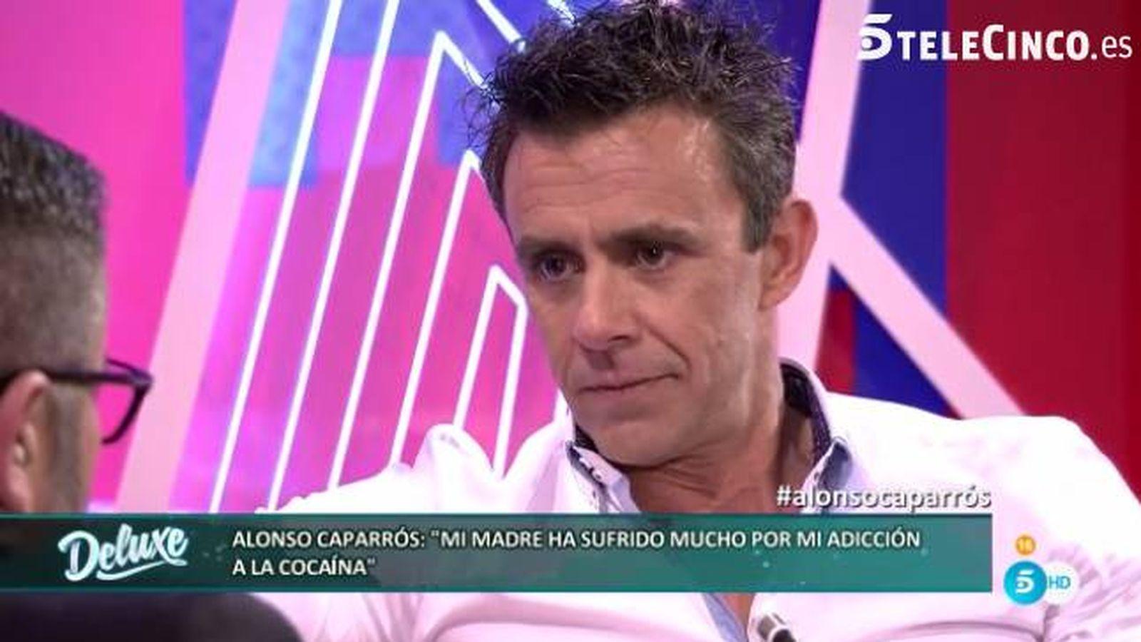 Foto: Alonso Caparrós desvela su adicción a la cocaína en 'Sábado Deluxe'