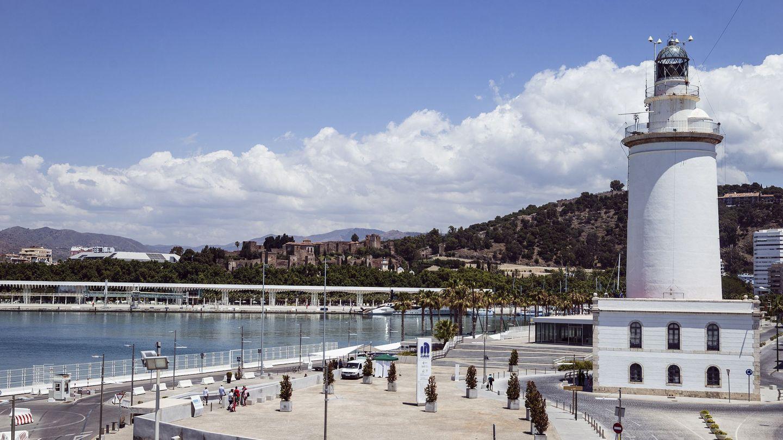 La Farola de Málaga. (EFE)