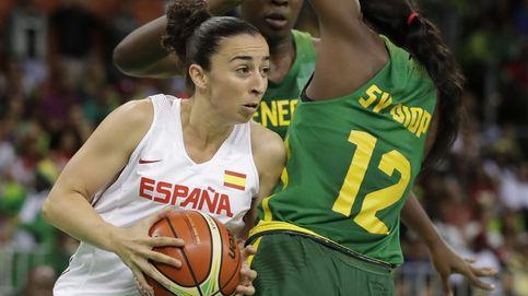 España de baloncesto femenino arrolla a Senegal y Mondelo rota de cara a Canadá