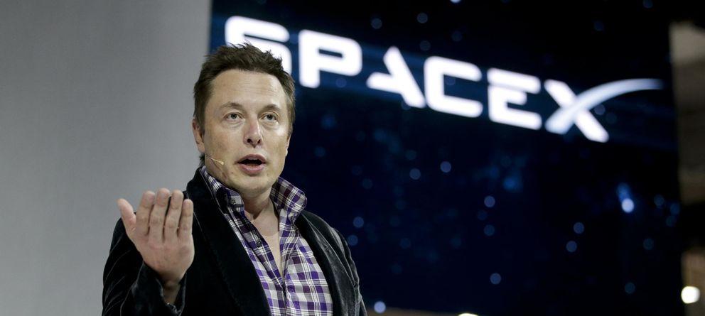 Foto: Elon Musk en un acto de SpaceX en Hong Kong. (AP Photo)