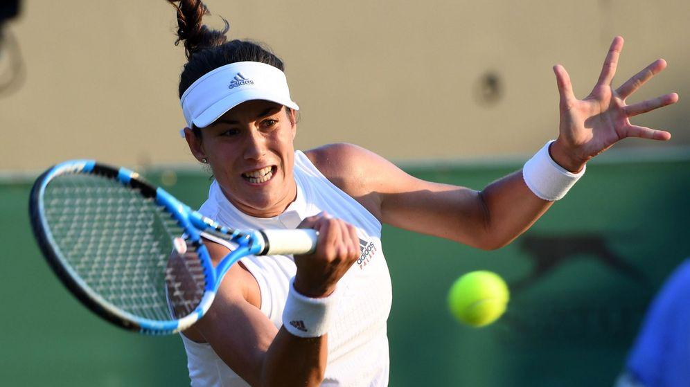 Foto: Garbiñe Muguruza perdió este jueves en la segunda ronda de Wimbledon. (EFE)