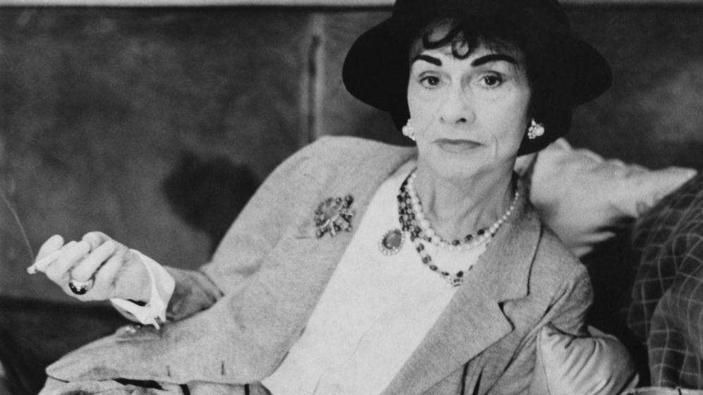Foto: La diseñadora Coco Chanel. (Fuente: Getty).