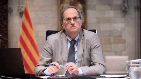 Las trampas de Torra enfadan a los 200.000 funcionarios de la Generalitat de Cataluña