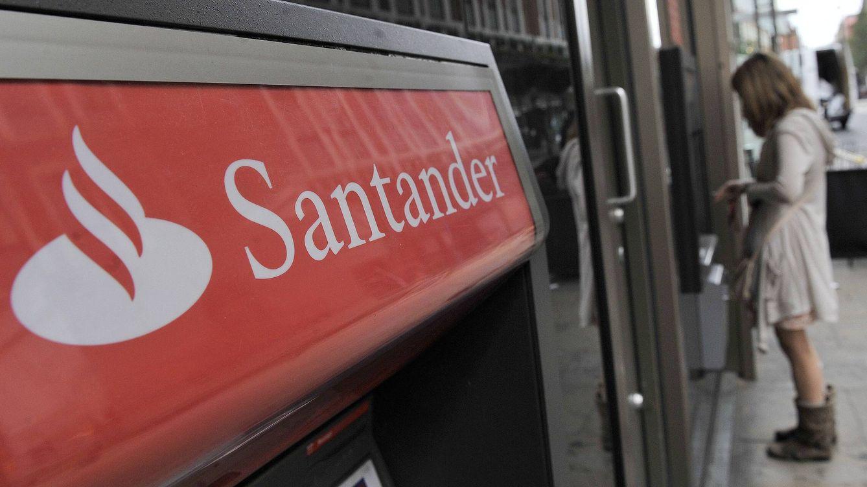 Foto: Oficina de Banco Santander. (Efe)