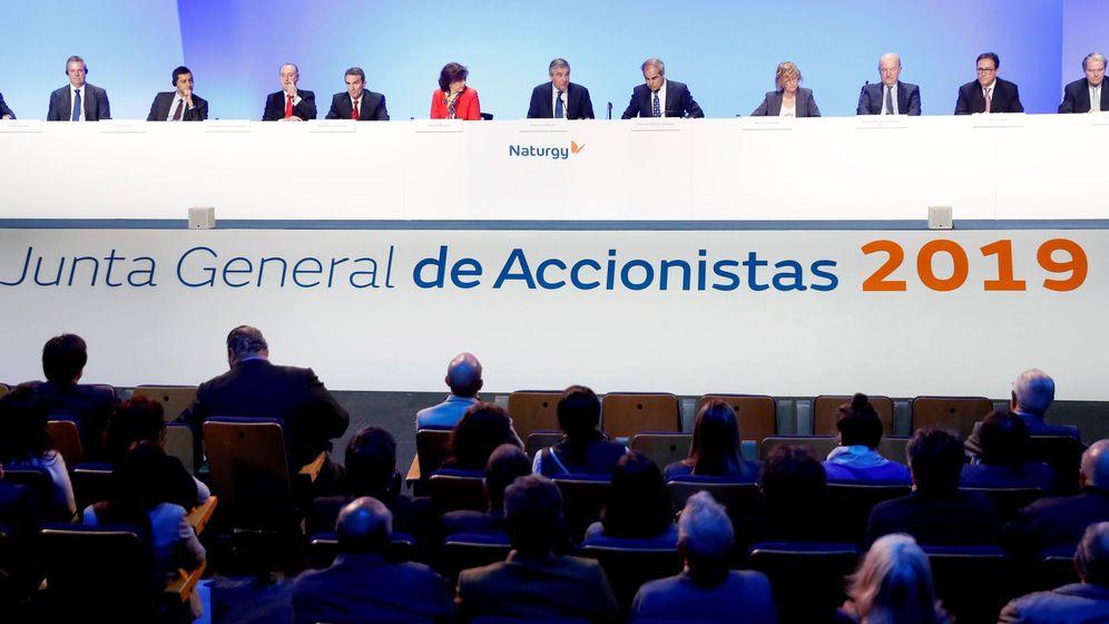 Foto: Junta General de accionistas de Naturgy 2019. (EFE)