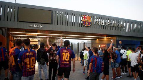 Aficionados del FC Barcelona asaltan el recinto del Camp Nou: Bartomeu dimisión