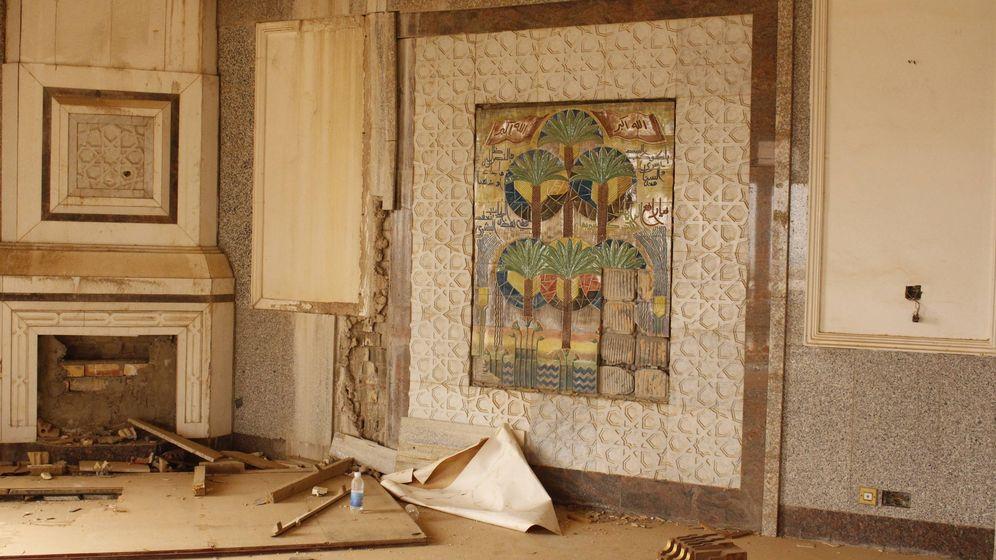 Foto: Uno de los palacios de Sadam, en Bagdad. (Alicia Alamillos)