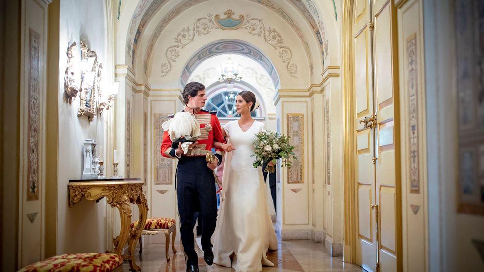 Estas son las fotografías oficiales de la boda del duque de Huéscar y Sofía Palazuelo