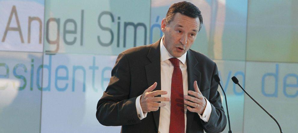 Foto: El presidente ejecutivo de Agbar, Ángel Simón (EFE)