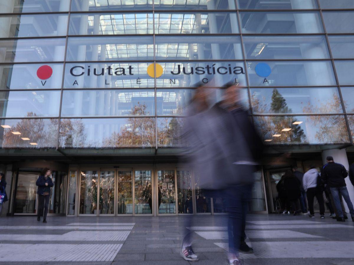 Foto: Imagen de la Ciudad de la Justicia de Valencia. (EFE)