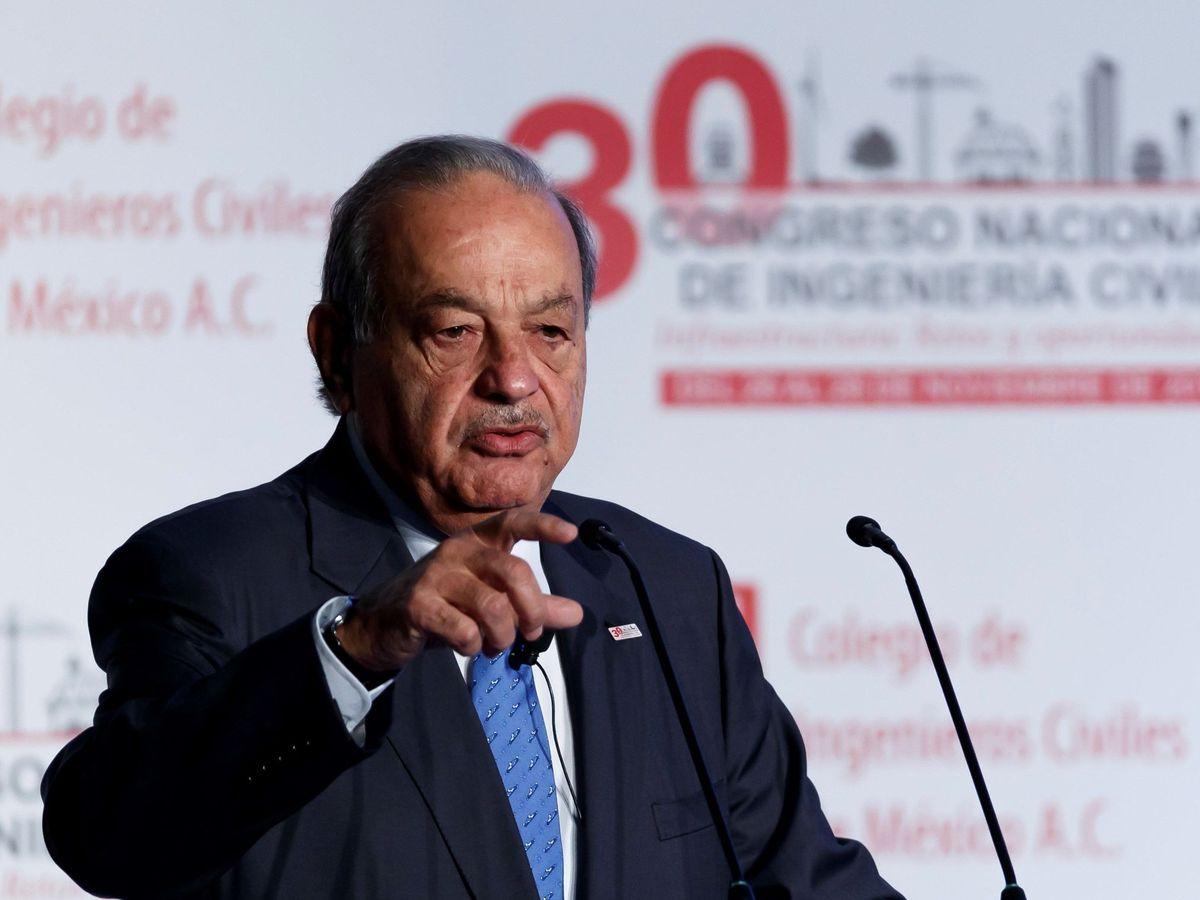 Foto: Carlos Slim, propietario de FCC. (EFE)