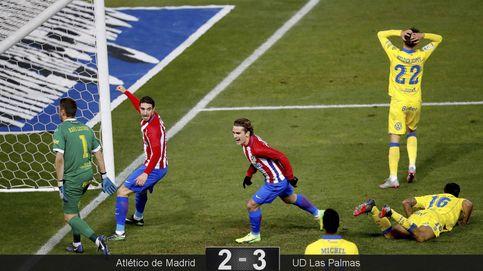 Las Palmas no creía en la remontada, pero el Atlético le permitió soñar