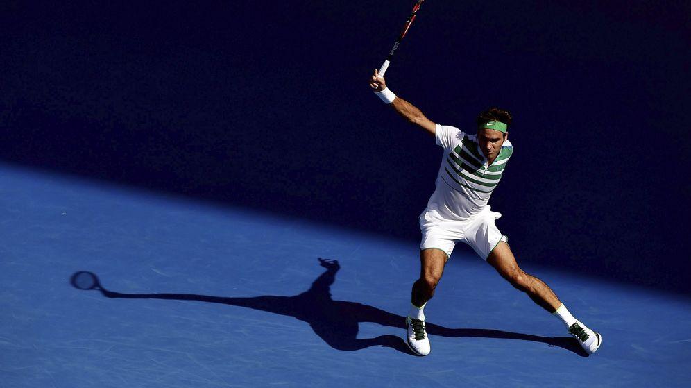 Foto: Roger Federer, en el Abierto de Australia (Efe)