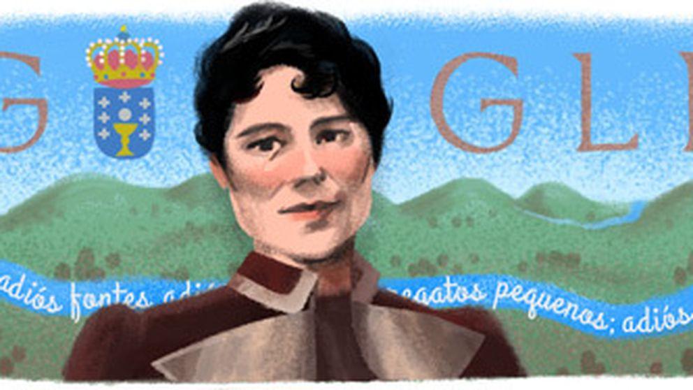 La poetisa Rosalía de Castro, homenajeada en el aniversario de su nacimiento