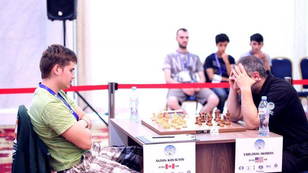 Unas bermudas desatan la polémica en la Copa del Mundo del ajedrez