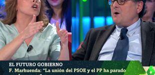 Post de Gran bronca entre Angélica Rubio y Marhuenda: