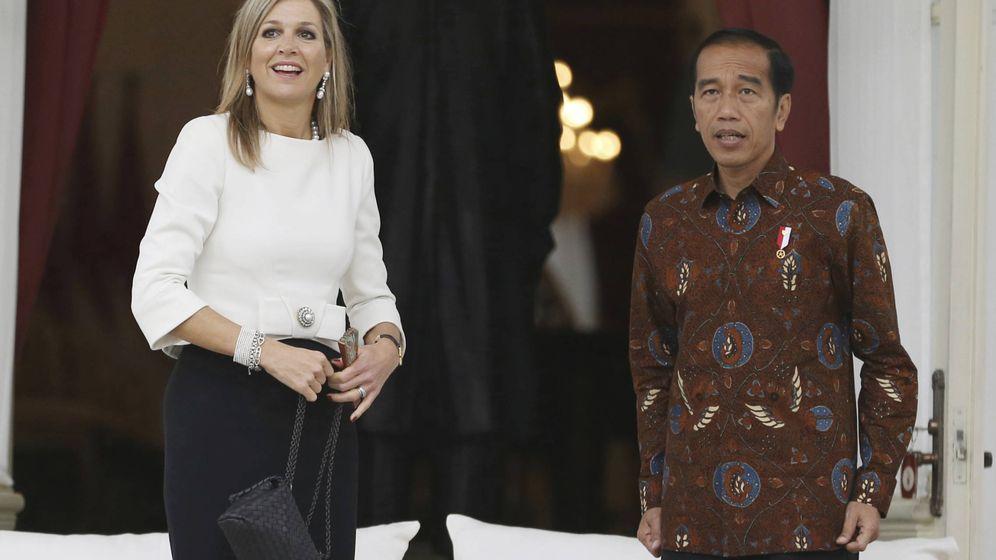 Foto: La reina Máxima de Holanda en Indonesia. (Gtres)