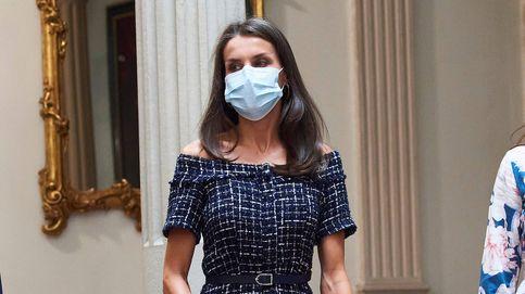 La reina Letizia recupera un vestido de Zara que lo tiene todo
