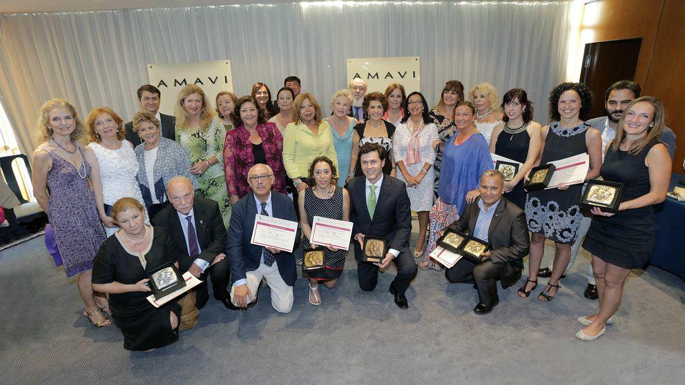 Noche de premios con sabor a vino para Nur de Jordania y Pilar Medina Sidonia