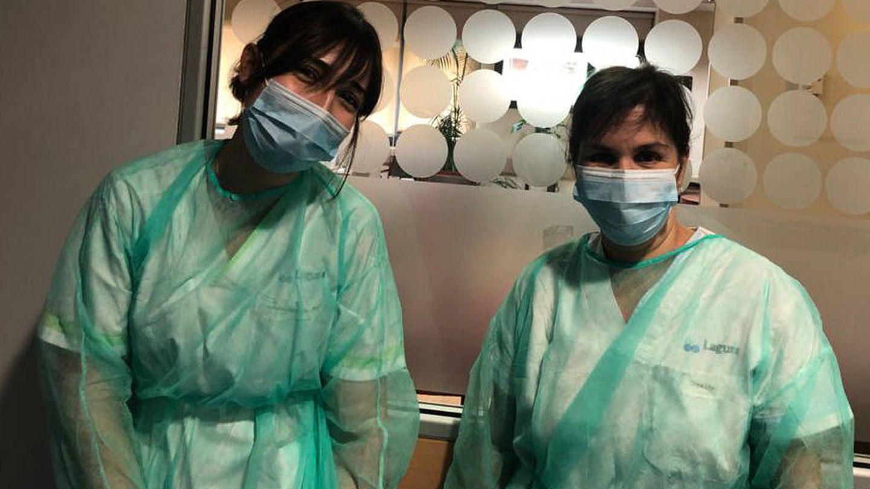 Equipo sanitario del Hospital Centro de Cuidados Laguna, durante la pandemia.
