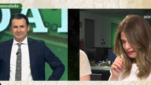 Una periodista de La Sexta rompe a llorar con la encerrona de Iñaki López