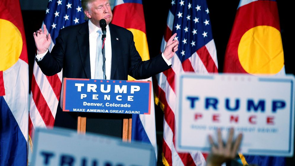 Foto: Donald Trump en un mítin en Denver, Colorado. (Reuters)