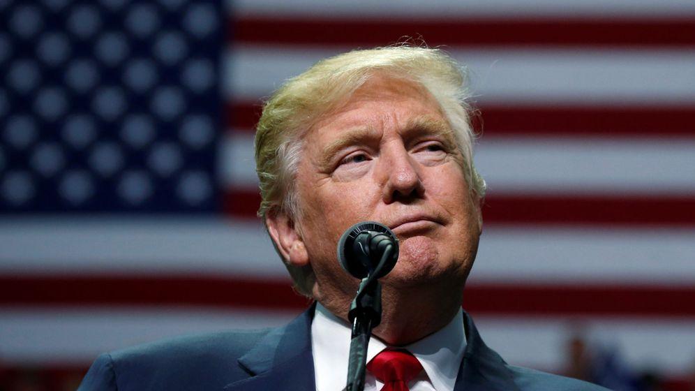Foto: Donald Trump en un acto de campaña. (Reuters)