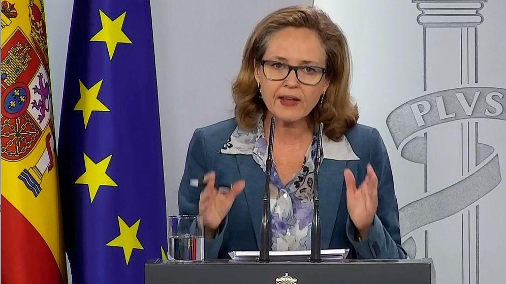 Foto: La vicepresidenta de Asuntos Económicos, Nadia Calviño. (EFE)