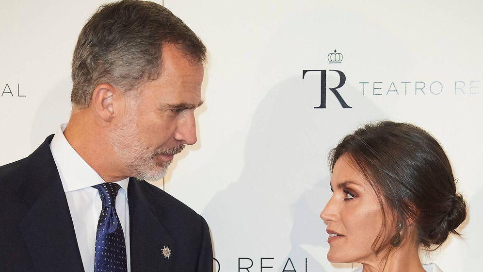Foto: Los Reyes, en el Teatro Real. (Limited Pictures)