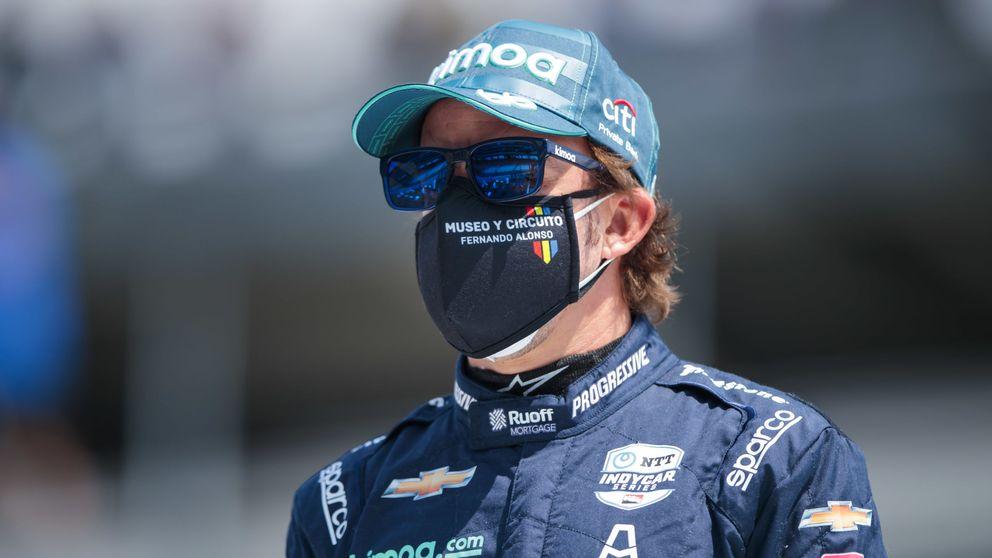 El problema de Fernando Alonso en las 500 Millas y su 2021 de transición en Renault