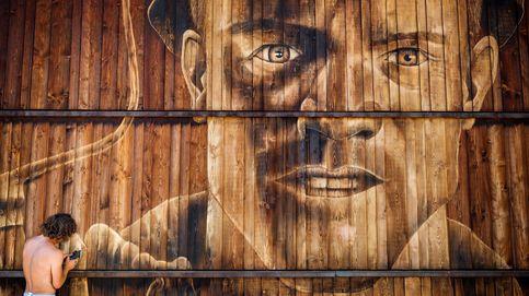 Mural del artista suizo LPVDA