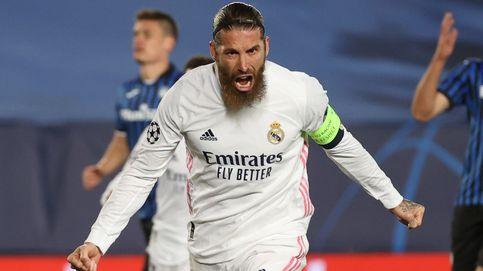 Un Real Madrid renovado en la Champions: gol de Ramos y regalo del Atalanta (3-1)