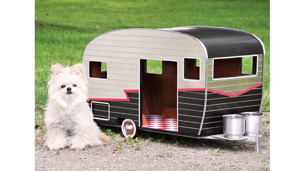 Casetas de diseño para mascotas exquisitas