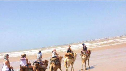 Melissa Jiménez quema adrenalina en su despedida de soltera en Marrakech