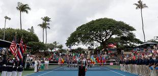Post de EEUU equivoca el himno alemán por el nazi en la eliminatoria de Fed Cup