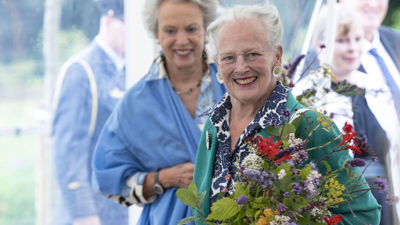 Margarita de Dinamarca y su hermana Benedicta. (Reuters)