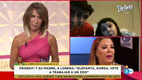 Lorena Edo pide la expulsión de Frigenti de Telecinco: No hay que darles cabida