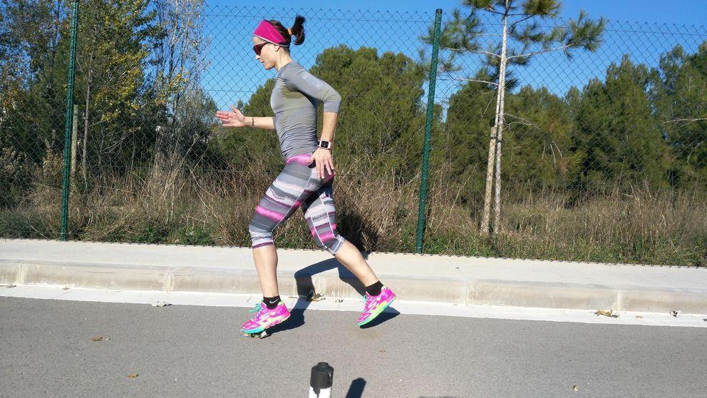 Una campeona del mundo corriendo hacia atrás  que fue portada de 'Interviú'