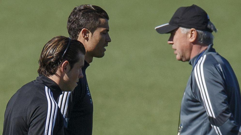 Foto:  El agente de Bale nunca ha ido a ver un entrenamiento, dijo Ancelotti (Reuters)