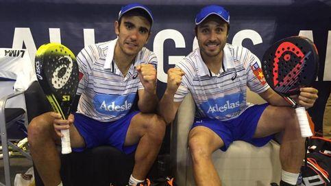 Fernando Belasteguín y Pablo Lima causan baja en el Madrid Open
