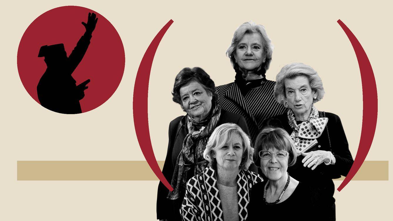 Alberdi, Becerril, Cernuda, Almeida y Balletbò: las mujeres del 23-F